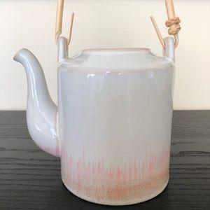 Japanese Tea Pot with Wood Handle